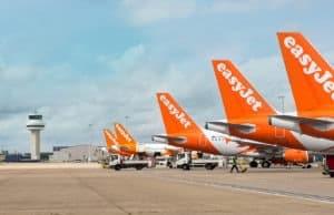 Easyjet corporate plane picture