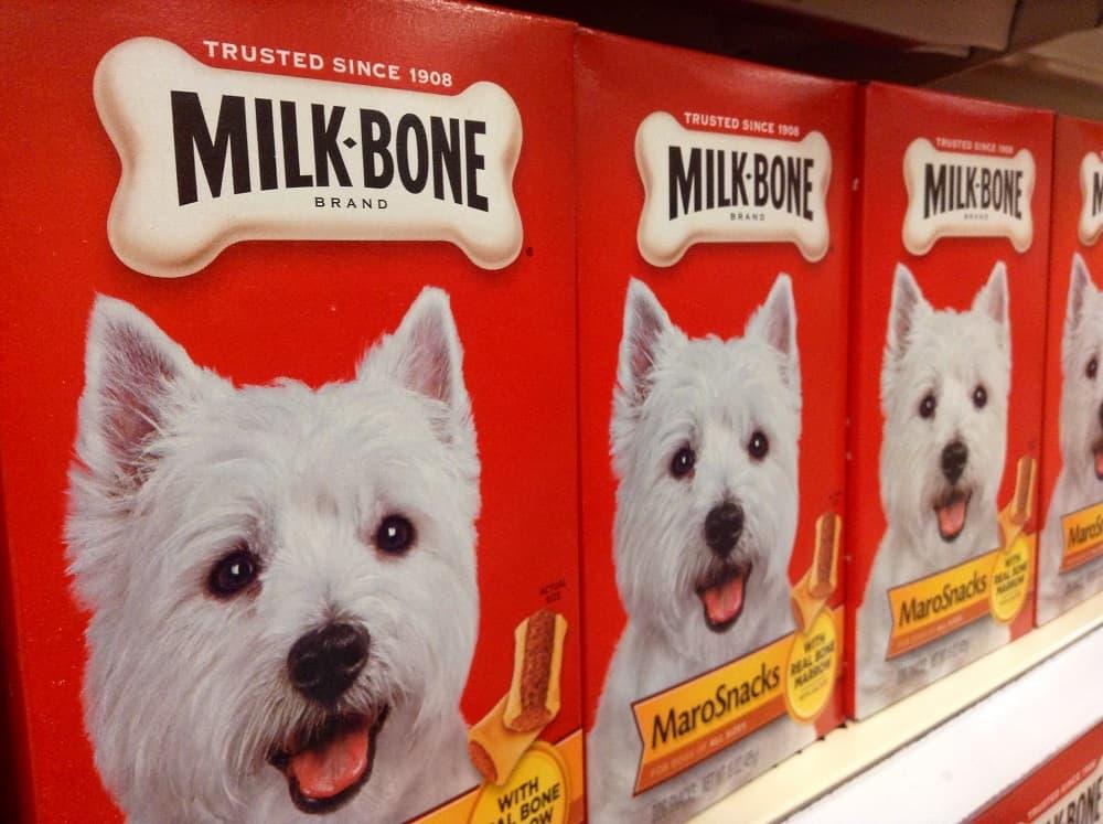 les gâteries Milkbone en supermarché
