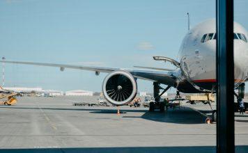 avion aeroflot à l'aéroport