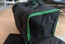 test du sac pour chien Ikea Lurvig